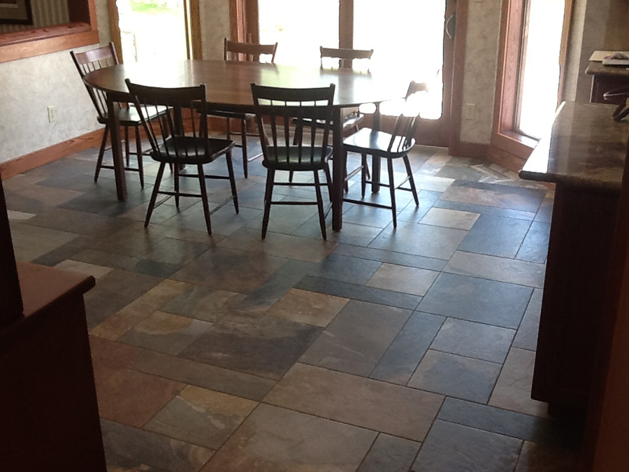 Dining Room Floor Tile